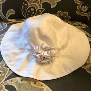 Other - 6-12 month white sun hat